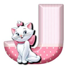 J Cat Marie (Alphabets by Mónica Michielin)