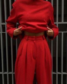 All Red Outfit Collection All Red Outfit. Here is All Red Outfit Collection for you. All Red Outfit how to wear an all red outfit graceful style. All Red Outfit olivia culpo in red Look Fashion, Fashion Beauty, Luxury Fashion, Winter Fashion, Womens Fashion, Fashion Trends, Fashion Mode, Ladies Fashion, Red Fashion Outfits