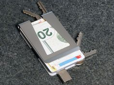Wallet & Key Organizer Redefined: All-in-One, or Either One by Rich @ LeftFieldDesign — Kickstarter