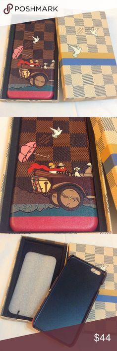 Leather case for iPhone NWOT Leather case for iPhone. High quality. This is my lowest price. Discount 10% off 2+ bundle. Thank you  Accessories Phone Cases