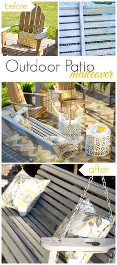 HOW TO: Patio Table Makeover with Americana Decor Outdoor Living ...