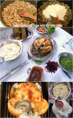 Almoço de ação de graças / Thanksgiving lunch