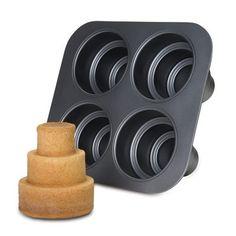 Chicago Metallic Non-Stick Square Multi Tier Cake Pan