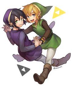 Link Between Worlds   ミンメ [pixiv]
