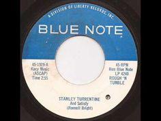 Stanley Turrentine - And satisfy - Blue Note 45 Mod Jazz Dance Hard Bop