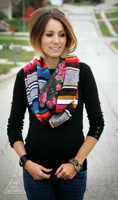 I love this woman's hair!!! Ombre and angled bob! My two favorites combined!! She also has a lot of great outfit ideas