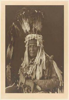 Mountain Chief - Blackfeet (Pikuni) - 1908