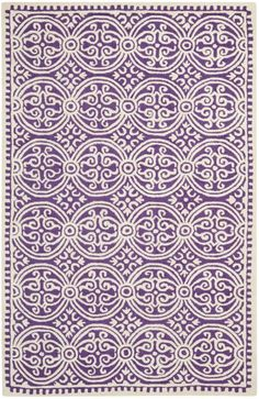 From Safavieh's Cambridge collection of hand-tufted wool rugs.