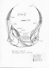 Předlohy pro paličkování | 4. stránka | Alena Třešňáková – FolkArt Lace Necklace, Stencils, Pattern, Ideas, Art, Patterns, Bobbin Lace, Necklaces, Jewerly