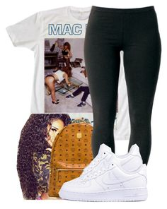 """""""."""" by ray-royals ❤ liked on Polyvore featuring MCM, Joe Browns and NIKE"""