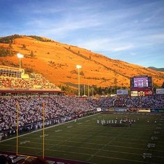Griz game at Washington Grizzly Stadium - University of Montana in Missoula, MT