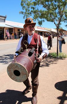 Tombstone Steampunk Parade/Contest (Tombstone, AZ, Aug 31 2013) Just some design ideas/inspiration.