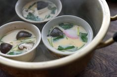 鍋で作る簡単 茶碗蒸しの写真
