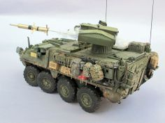 M1134 Stryker Anti-Tank Guided Missile Vehicle 1/35 Scale Model
