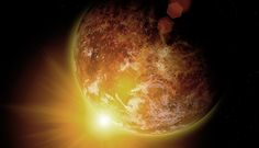 Planet migrations and collisions that could threaten life on Earth are unlikely solutions to the faint young sun paradox. Noah Flood, Sun And Earth, Evolution, Universe, Faith, Science, Outer Space, Flag, Loyalty