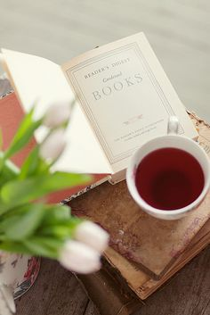 """misswallflower:  """"You can never get a cup of tea large enough or a book long enough to suit me."""" -C.S. Lewis"""