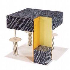 Los Angeles Modern Auctions (LAMA) Los Angeles' premier auction house for Modern Art and Design Table Furniture, Furniture Design, Chair Design, Peter Shire, Nathalie Du Pasquier, Memphis Design, Home Buying, Modern Design, Modern Art