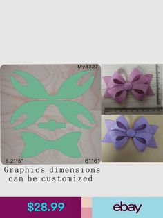 Bow mold – Fantasy Bowtique the supply store FANTASY BOWTIQUE/store, you can shop for a craft supplies and create fun ribbon crafts with ribbons and bows.Pinwheel bow or clip salvabrani – Arto Making Hair Bows, Diy Hair Bows, Diy Bow, Ribbon Crafts, Felt Crafts, Diy Leather Bows, Pinwheel Bow, Bow Template, Bow Pattern