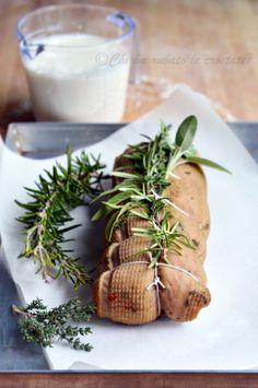 #Arrosto alla crema di latte e funghi... quando la carne non c'è eppur si vede!  Dal blog Chi ha rubato le crostate?  http://www.chiharubatolecrostate.com/2012/10/arrosto-alla-crema-di-latte-e-funghi.html