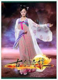Legend of the Ancient Sword (Gu Jian Qi Tan) - 古剑奇谭 Chinese Clothing, Chinese Dresses, Film China, Chinese Tv Shows, Drama Tv Shows, Chinese Culture, Hanfu, Traditional Outfits, Actors & Actresses