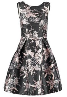 ORIENTAL - Vestido informal - black