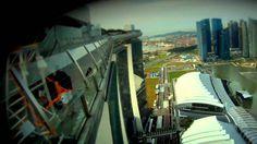 Marina Bay Sands Skypark BASE Jump.