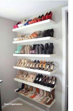 24 Awesome Diy Shoe Rack for Closet Diy Shoe Rack for Closet . 24 Awesome Diy Shoe Rack for Closet . 10 Shoe Storage Ideas to Keep You Sane Shoe Storage Design, Diy Shoe Storage, Diy Shoe Rack, Rack Design, Laundry Room Storage, Closet Storage, Bedroom Storage, Storage Ideas, Shoe Racks