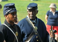 May 31, 2010, Chestertown, MD. — On this Decoration Day A USCT remembrance program.