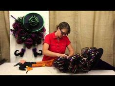 Witch Wreath Tutorial - YouTube
