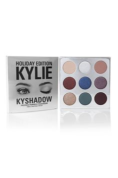 Kylie Cosmetics KyShadow Holiday Palette, $42, available at Kylie Cosmetics. #refinery29 http://www.refinery29.com/2016/11/130650/kylie-holiday-collection-limited-edition-2016#slide-16