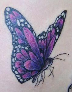 butterfly tattoo by ~twinklyfairypants on deviantART
