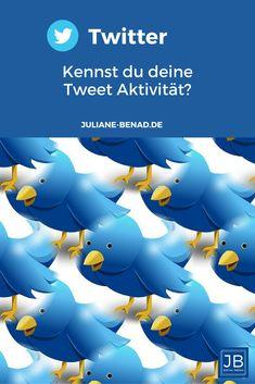 Kennst du deine Tweet Aktivität. Schau doch mal in deine Twitter Analytics, denn wenn du sie kennst, kannst du dementsprechend deine Tweets planen. Für mehr Reichweite. #Twitter #Twittermarketing #Twittertipp Twitter, Social Media Marketing, Psychics, Tips And Tricks