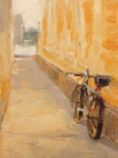 """Bicycle Alley"" by Laurel Daniel"