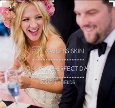 flawless skin on your perfect day. <3 | sarahns.myrandf.com