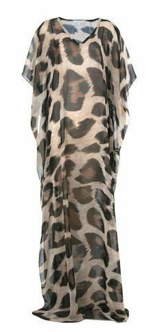 Leopard print...