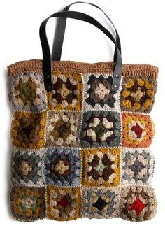 motleycraft-o-rama:  Granny Square Bag, from ModCloth.