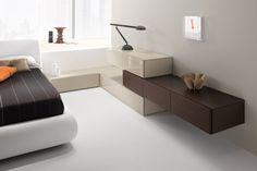 Guest Bedroom Office, Gray Bedroom, Modern Bedroom, Kids Bedroom, Bedroom Decor, Living Room Partition Design, Room Partition Designs, Decor Interior Design, Furniture Design