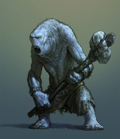 Troll by Ákos Haszon Fantasy Races, Fantasy Rpg, Medieval Fantasy, Dark Fantasy, Mythological Creatures, Fantasy Creatures, Mythical Creatures, Fantasy Monster, Monster Art
