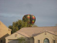 Balloon going down