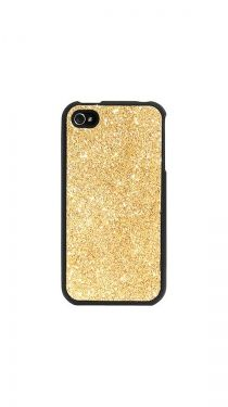 iPhone 4/4S Glitter Case, Gold :) Niice :)
