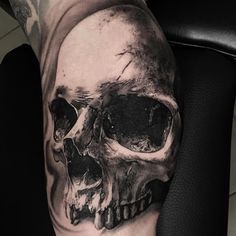 Done at the ,sponsored by _ _ _ _ Tattoos 3d, Wicked Tattoos, Creepy Tattoos, Modern Tattoos, Large Tattoos, Skull Tattoos, Body Art Tattoos, Tattoos For Guys, Sleeve Tattoos