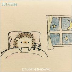 1188 眠れないの I can't sleep.