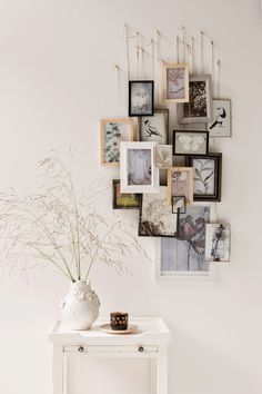 Hanging wedding pictures - Interior design - Pictures on Wall ideas Hanging Wedding Pictures, Hanging Pictures, Cheap Home Decor, Diy Home Decor, Diy Decoration, Decor Ideas, Decor Crafts, Decorating Ideas, Picture Wall