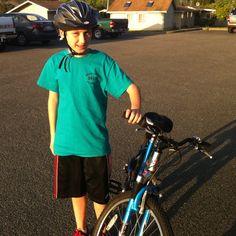 Bradeys first ride