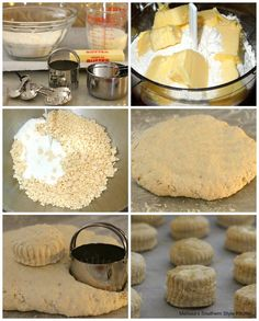 Bake a batch of these spectacular Fluffy Southern Buttermilk Biscuits to go with any meal #buttermilkbiscuits #southernbiscuits #biscuits #biscuitrecipes #southernfood #southernrecipes #bread #breakfast #brunch #holidaybrunch #bestbiscuits #bestbiscuitrecipes #holidaybrunch #fallbaking Southern Homemade Biscuits, Homemade Freezer Biscuits, Southern Buttermilk Biscuits, Homemade Donuts, Homemade Desserts, Buttermilk Rusks, Homemade Breads, Bisquick Recipes, Baking Recipes