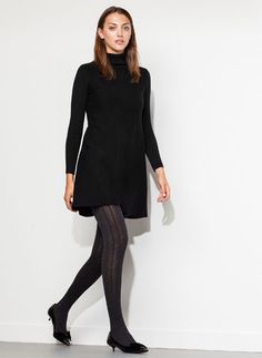 Cute knit dress at Uterque £99 also in deep blue
