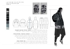 Fashion plus Application – 2014 Graduate Collection – ArtsThread – fashion editorial layout Mise En Page Portfolio Mode, Fashion Portfolio Layout, Fashion Design Sketches, Portfolio Design, Portfolio Presentation, Presentation Layout, Fashion Sketchbook, Art Sketchbook, Illustration Mode