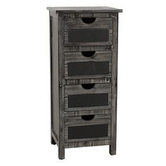 Add rustic style to your decor with our Weathered Gray Chalkboard Chest. Features chalkboard labels so you can easily customize this storage solution. Furniture Sale, Bedroom Furniture, Chalkboard Labels, Kids Study, Study Areas, Diy Organization, Chest Of Drawers, Rustic Style, Storage Solutions