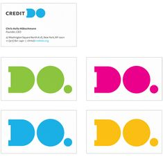 Credit Do Logo and Identity