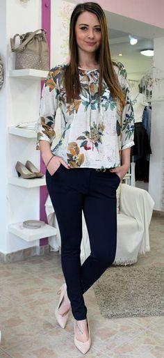 Dark blue jeans Trouser Jeans, Trousers, Bell Sleeves, Bell Sleeve Top, Dark Blue Jeans, Blouse, Long Sleeve, Tops, Women